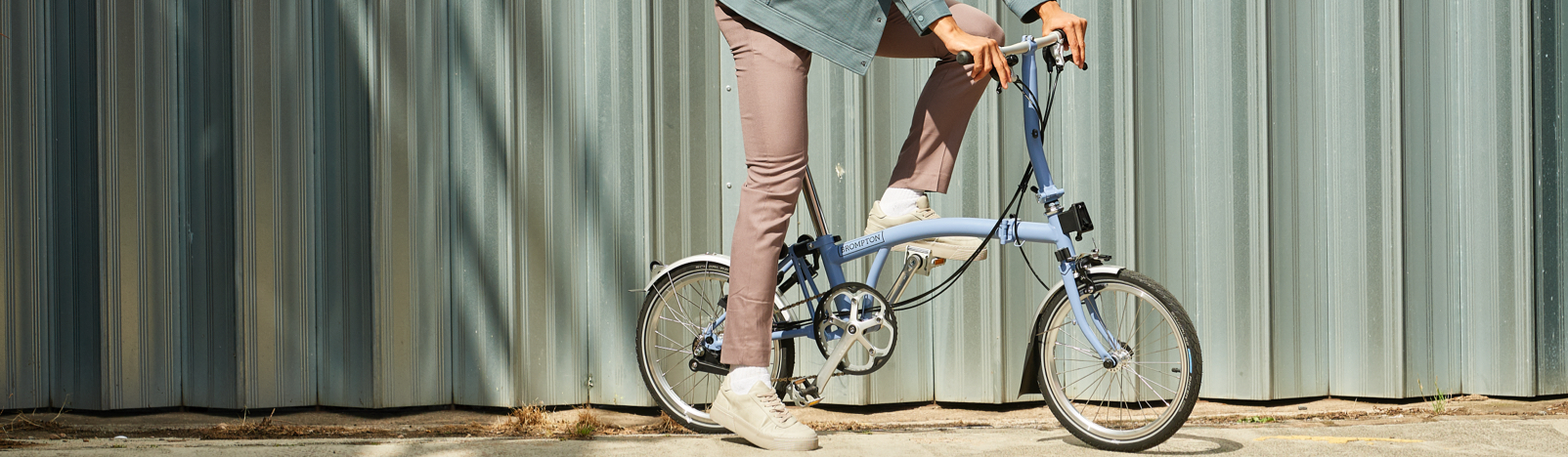 Brompton Bicycle Cloud Blue