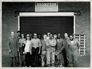 Brompton erste Manufaktur